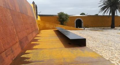 Memorial de homenagem aos presos políticos – Museu Nacional Resistência e Liberdade – Fortaleza de Peniche