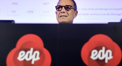 António Mexia, presidente executivo da EDP – Foto de António Cotrim/Lusa