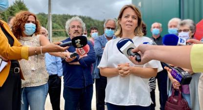 Catarina Martins em Miranda do Corvo - foto de Andreia Quartau