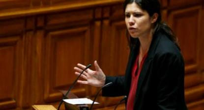 Mariana Mortágua: relatório final deve ter posição mais dura. Foto de MIGUEL A. LOPES/LUSA