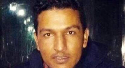 O jovem saharaui Mohamed Fadel – Foto de adalauk.org