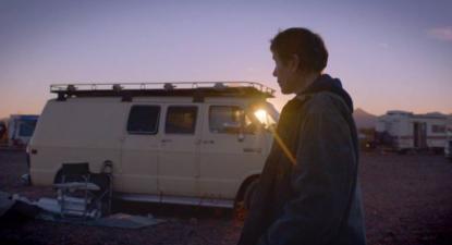 """""""Nomadland – Sobreviver na América"""" de Chloe Zhao, imagem de cinema7arte.com"""