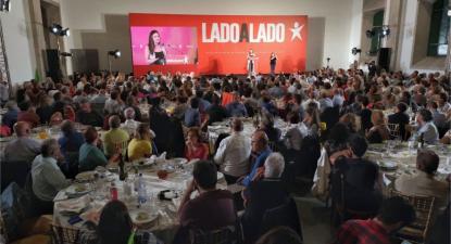 Comício na Alfandega do Porto, Europeias 2019. Foto de Paula Nunes.