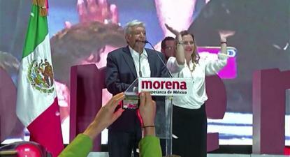 O desejo de mudança concretizou-se em julho de 2018, quando López Obrador obteve um triunfo contundente nas presidenciais, obtendo 53,2% dos votos