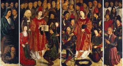 Painéis de S. Vicente, obra prima da pintura universal - O Museu Nacional de Arte Antiga (MNAA) considerou que a obra precisava de intervenção, decisão ousada – Foto do MNAA