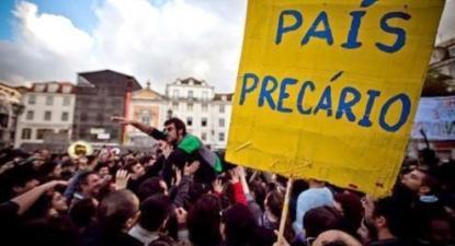 Precários da universidade de Lisboa concentraram-se nesta quarta-feira