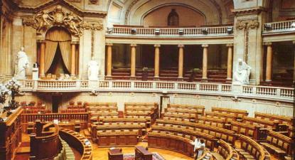 Parlamento (hemiciclo) – Foto IPPAR, disponível na wikipedia