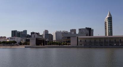 Parque das Nações em Lisboa. Foto de Bobo Boom/Wikimedia Commons.