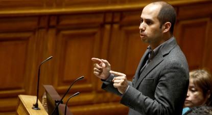 Pedro Filipe Soares intervém no Parlamento