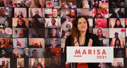 Marisa Matias encerrou esta noite a sua campanha presidencial na cidade de Coimbra.