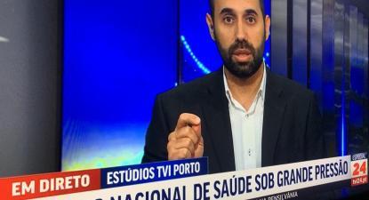 """""""Quando discutimos as respostas do setor público à covid, estamos a falar de respostas que só os grandes hospitais têm. E se não for acautelada esta resposta, haverá pessoas que ficam sem apoio"""", diz Pedro Filipe Soares."""
