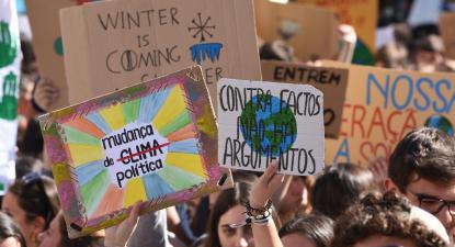 Ativistas convocam greve climática para 13 de março