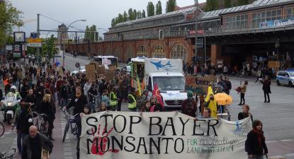 Protesto Stop BayerMonsanto, Berlim, 19 de abril de 2017 – Foto de Eldorado dos Carajás/flickr