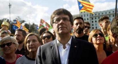 Carlos Puigdemont - Foto de Quique Garcia/Epa/Lusa (arquivo)