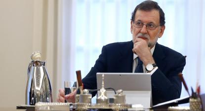 O presidente do Governo espanhol, Mariano Rajoy, falou ao país, esta manhã, após uma reunião extraordinária do seu Conselho de Ministros.