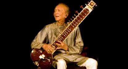 Ravi Shankar em 2009.