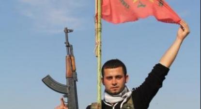 Combatente das YPG em Kobane. Foto de Firat news