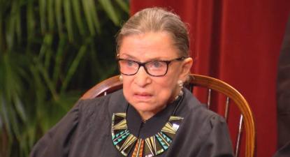 Ruth Bader Ginsburg (1933-2020) - Foto Democracy Now
