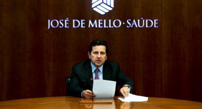 Salvador de Mello, presidente da José de Mello Saúde – Foto de José Sena Goulão/Lusa