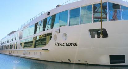 Scenic Azure, a empresa que opera com este barco e com o Emerald Radiance, quer fazer um despedimento coletivo