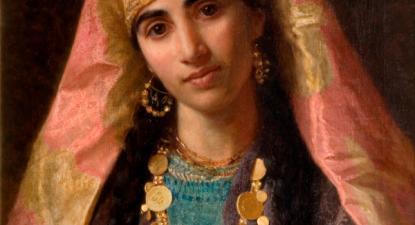 """""""Ouçamos Xerazade que não disputava o poder, mas a sua vida, a sua liberdade"""" - Imagem: Rainha Xerazade pintada no século XIX por Sophie Anderson - wikipedia"""