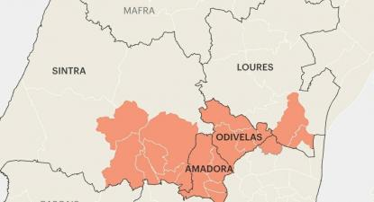 Os dados divulgados no último relatório do Instituto Nacional de Estatística (INE) traçam o retrato das 19 freguesias da Área Metropolitana de Lisboa (AML) que continuam em estado de calamidade