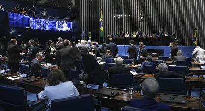 Senado derrotou proposta-símbolo de Bolsonaro. Foto: Jefferson Rudy/Agência Senado