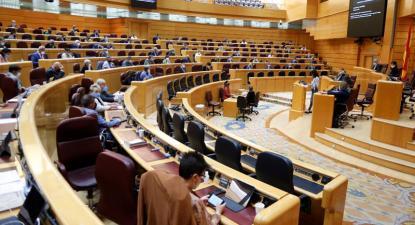 Plenário do Senado espanhol