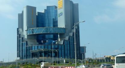 Sede da petrolífera Sonatrach em Oran, Argélia