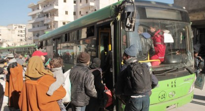 Evacuação de civis na Síria, por Ghith Sy, EPA/Lusa