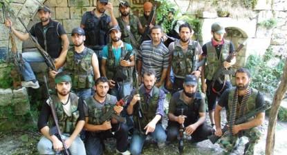 Síria, Salma, Brigada de Mustafa Mirsa (comandante Abu Kamel).