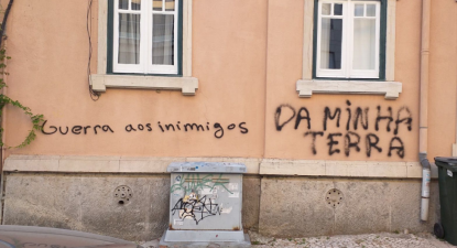 Foto via SOS Racismo.