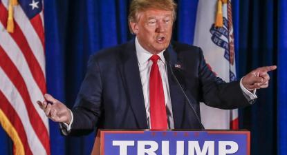 Donald Trump, foto de Tannen Maury, EPA/Lusa.