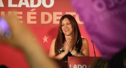 Marisa Matias. Foto de Paula Nunes.
