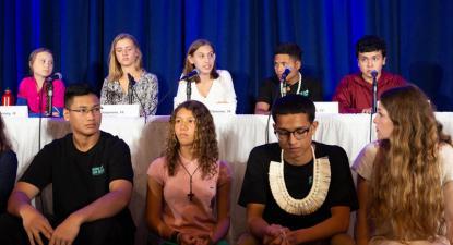 Jovens apresentam queixa à ONU