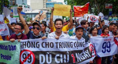 As manifestações tiveram lugar a 10 de junho e acontecem pela primeira vez desde 1975