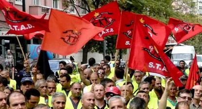 Manifestação do STAD. Foto: stad.pt.