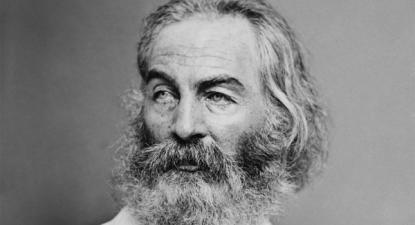 Walt Whitman - wikimedia/domínio público