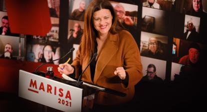 Marisa Matias. Foto de Ana Mendes.