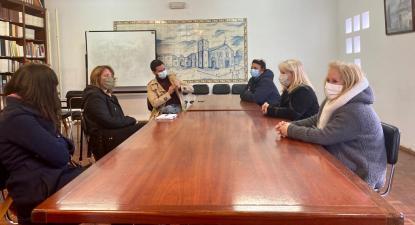 Catarina Martins reuniu com trabalhadoras do circo