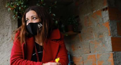 Marisa Matias em Alcouce.