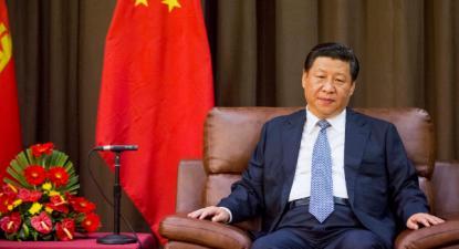 Xi Jinping em Angra do Heroísmo em 24 de julho de 2014 – Foto de Antonio Araujo/Epa/Lusa