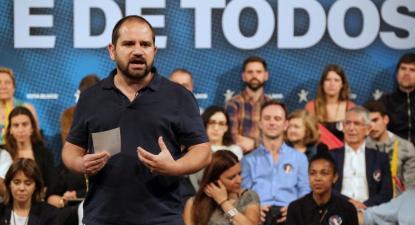 José Gusmão, eurodeputado bloquista. Foto de Paula Nunes.