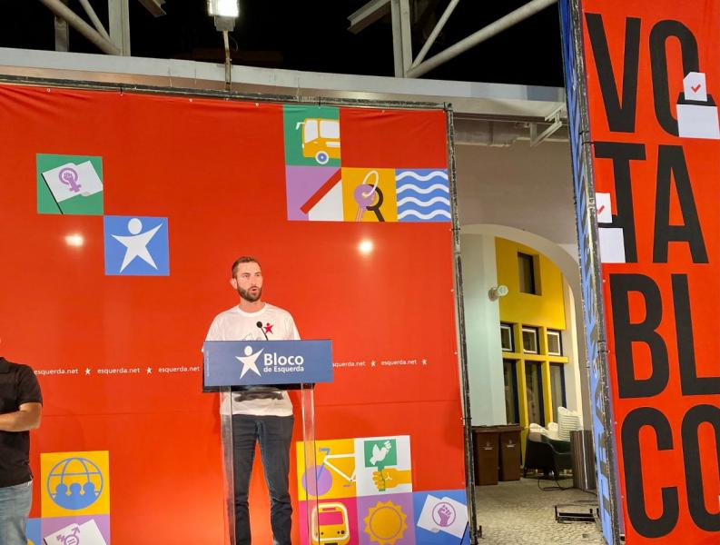 Luís Silva, candidato à Câmara de Leiria - foto de Andreia Quartau