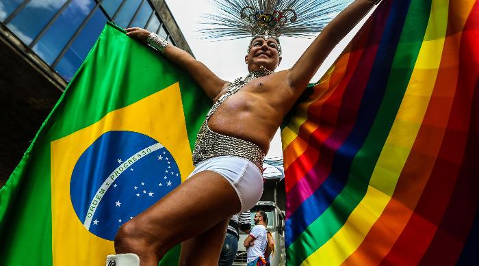 Marcha LGBT Brasil - Fotografia Paulo Pinto