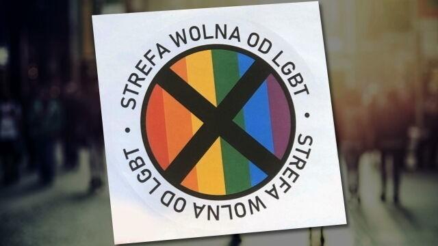 Autocolantes LGBT-free Zones