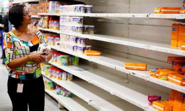 Escassez, falta de alimentos e medicamentos, destruição de serviços públicos, inflação galopante, foi essa a política de Maduro e o resultado foi a justa revolta da população contra o governo