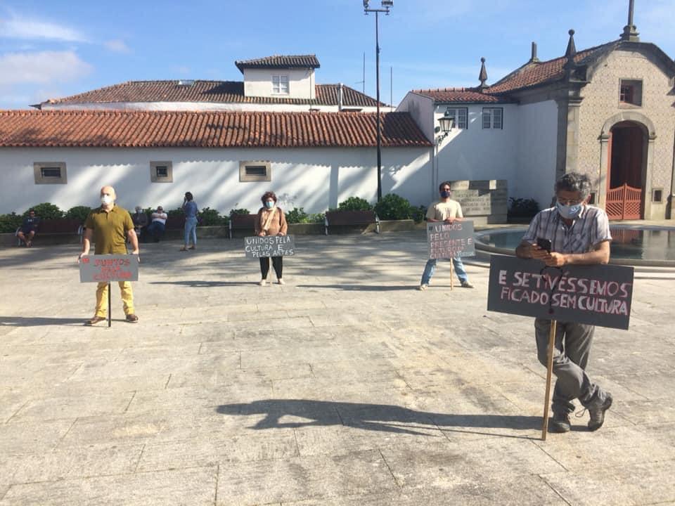 Vigília em Vila do Conde
